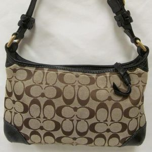 Authentic COACH Hobo tan purse G0726-11430